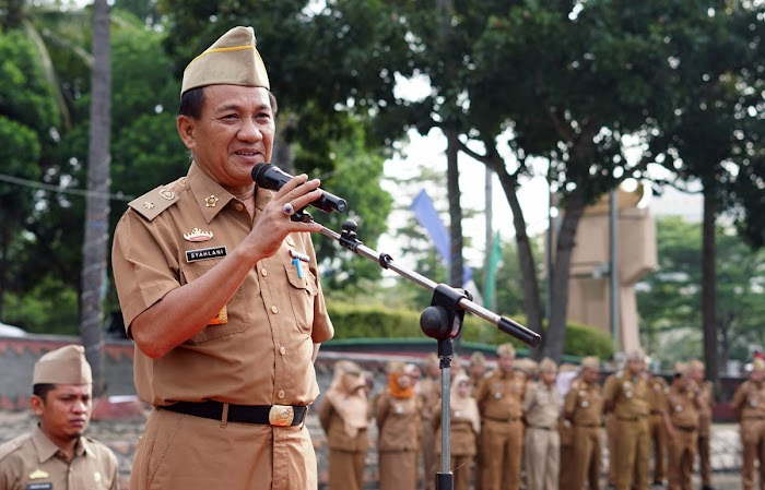 Syahlani Kembali Soroti Masalah Disiplin Pegawai ASN Di Lingkup Pemkab Lamsel.