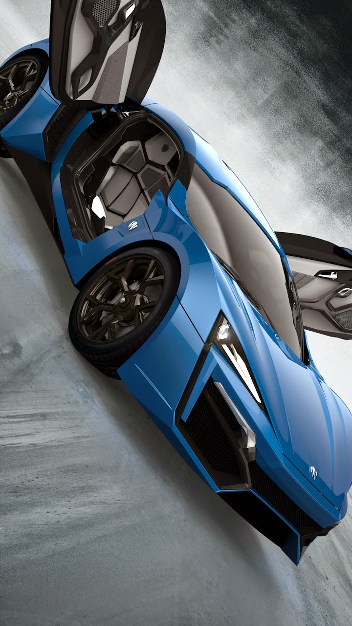 Komisch W Motors Lykan Hypersport Wallpapers