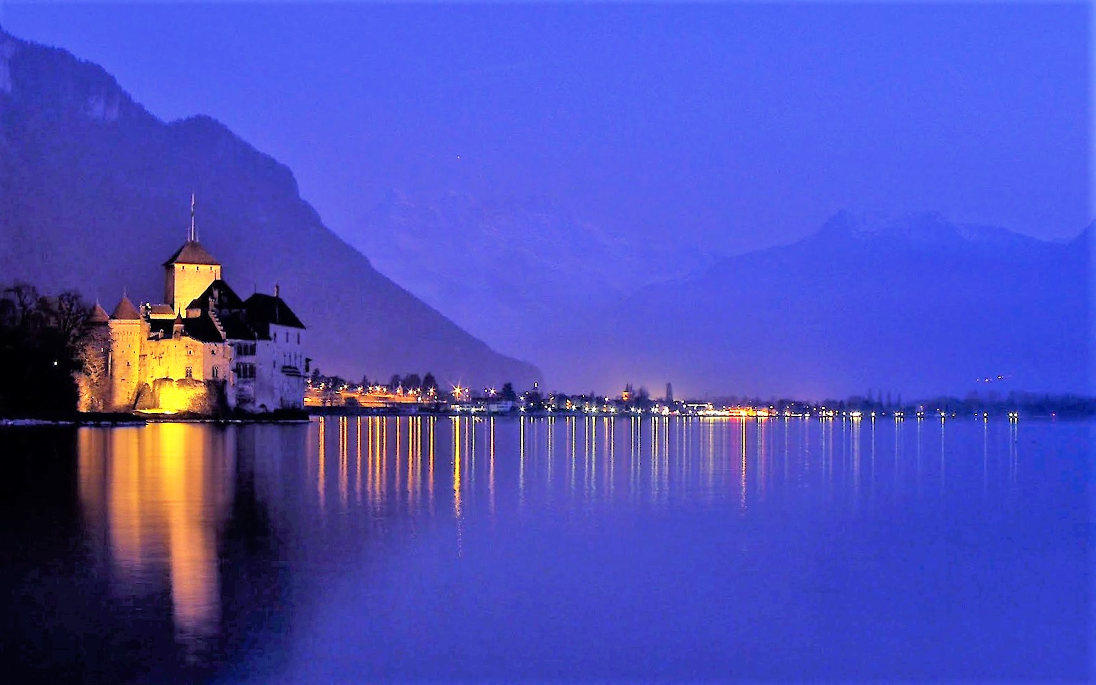 5 Five 5 Chateau De Chillon Veytaux Switzerland
