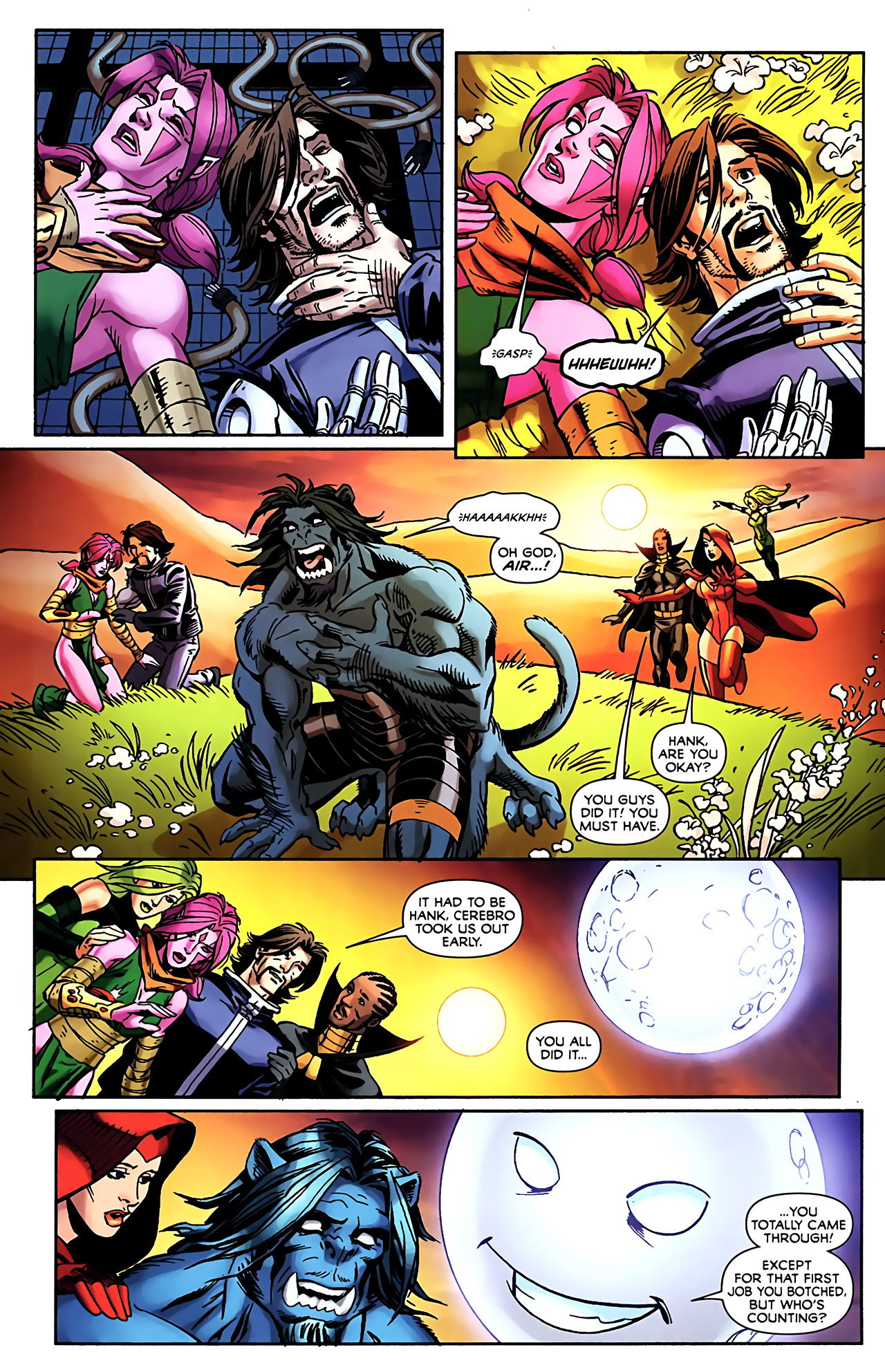 Read online Exiles (2009) comic -  Issue #5 - 24