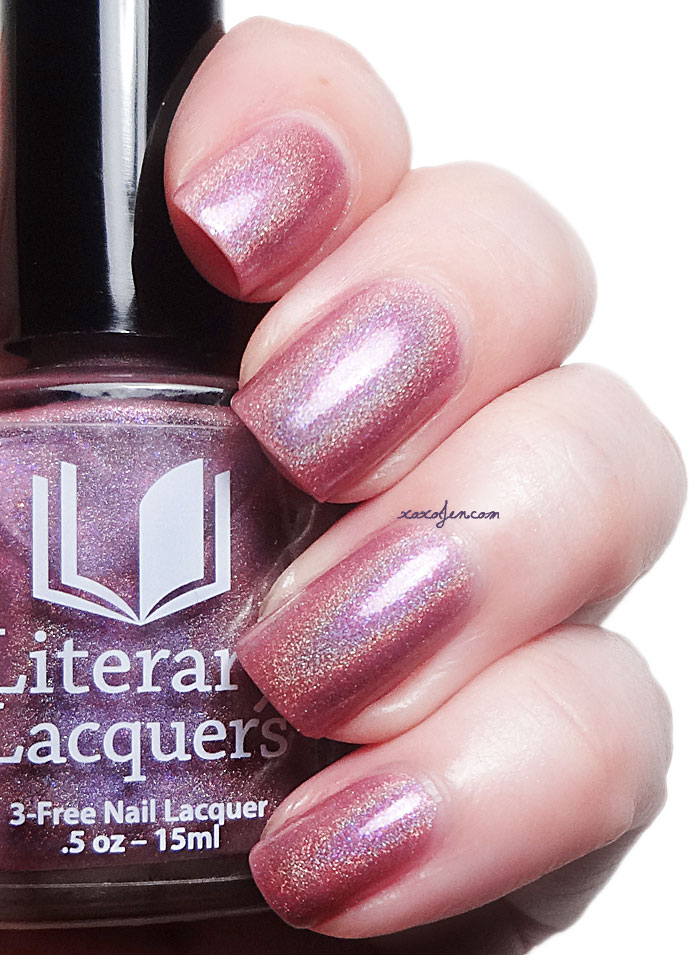 xoxoJen's swatch of Literary Lacquers Octarine