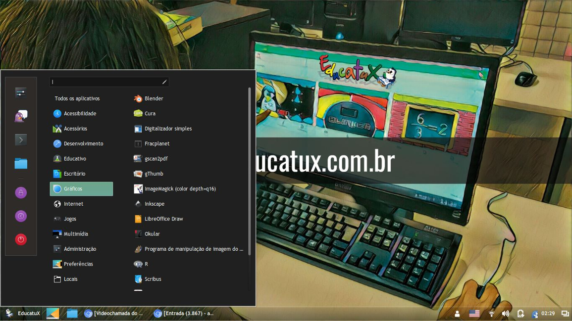Nova versão do EducatuX disponível para download
