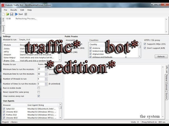 Download,Traffic Bot EDITION,Free,For,ever,And,how,to,work it