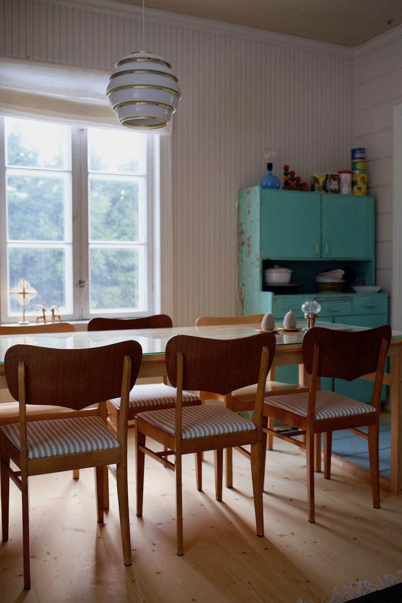 50 luvun teak tuoli
