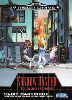 Rom de Shadow Dancer - Mega Drive - PT-BR