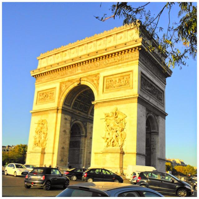 Roteiro para 7 dias em Paris - Arco do Triunfo
