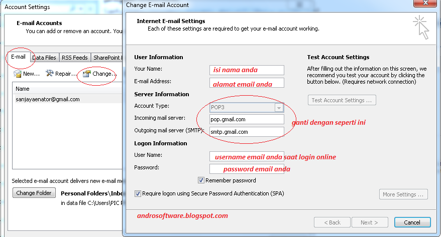 Cara Membuka Email dengan Outlook 2007 Mudah dan Cepat
