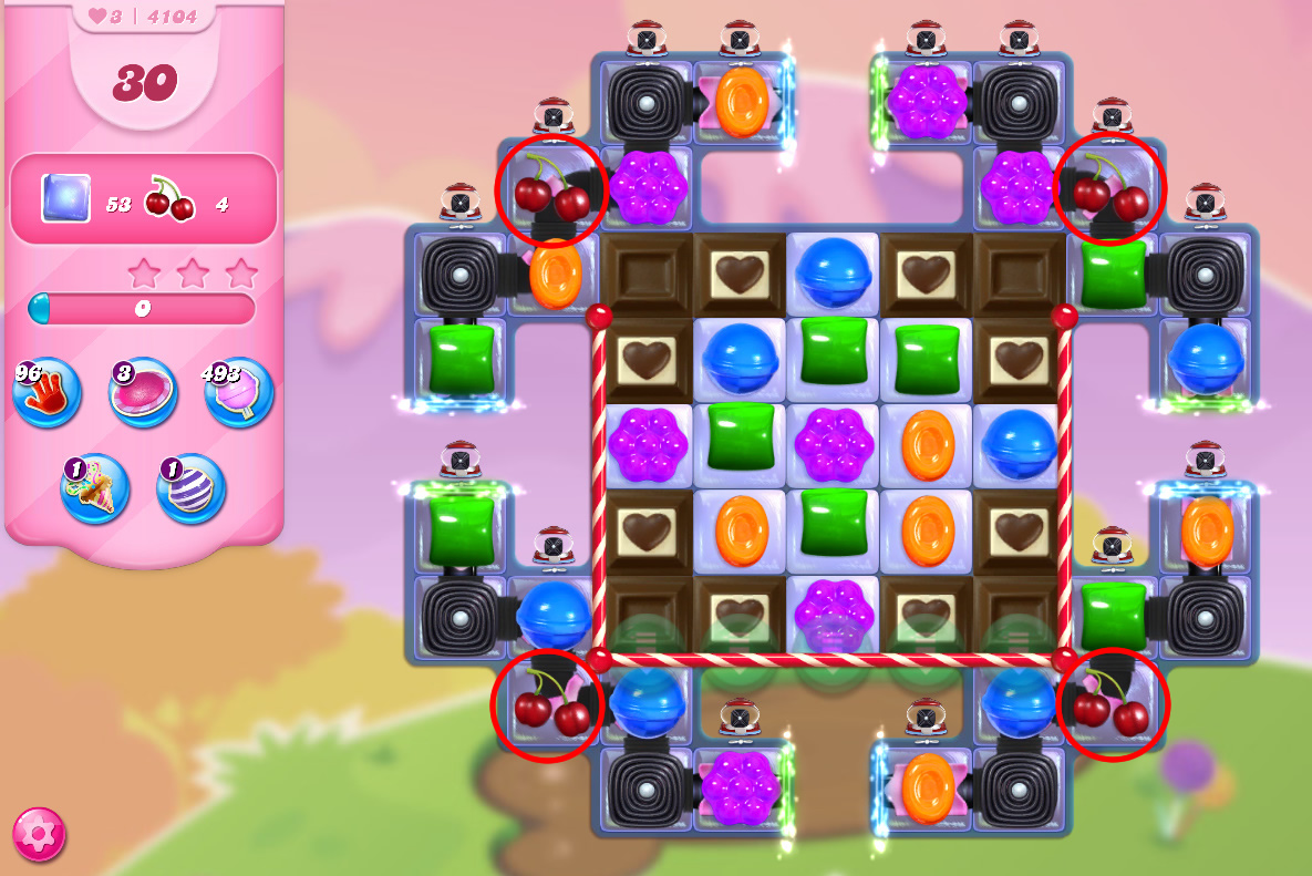 Candy Crush Saga level 4104