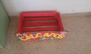 Sugestão de caixa de calçados para sua sala de aula.