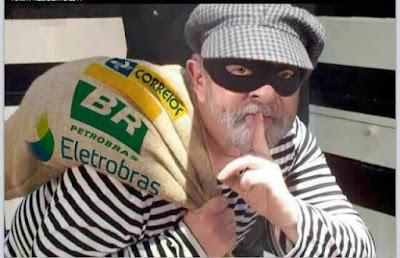 #bolsonaropresidente, #bolsonaro2018, ladrao se deu mal