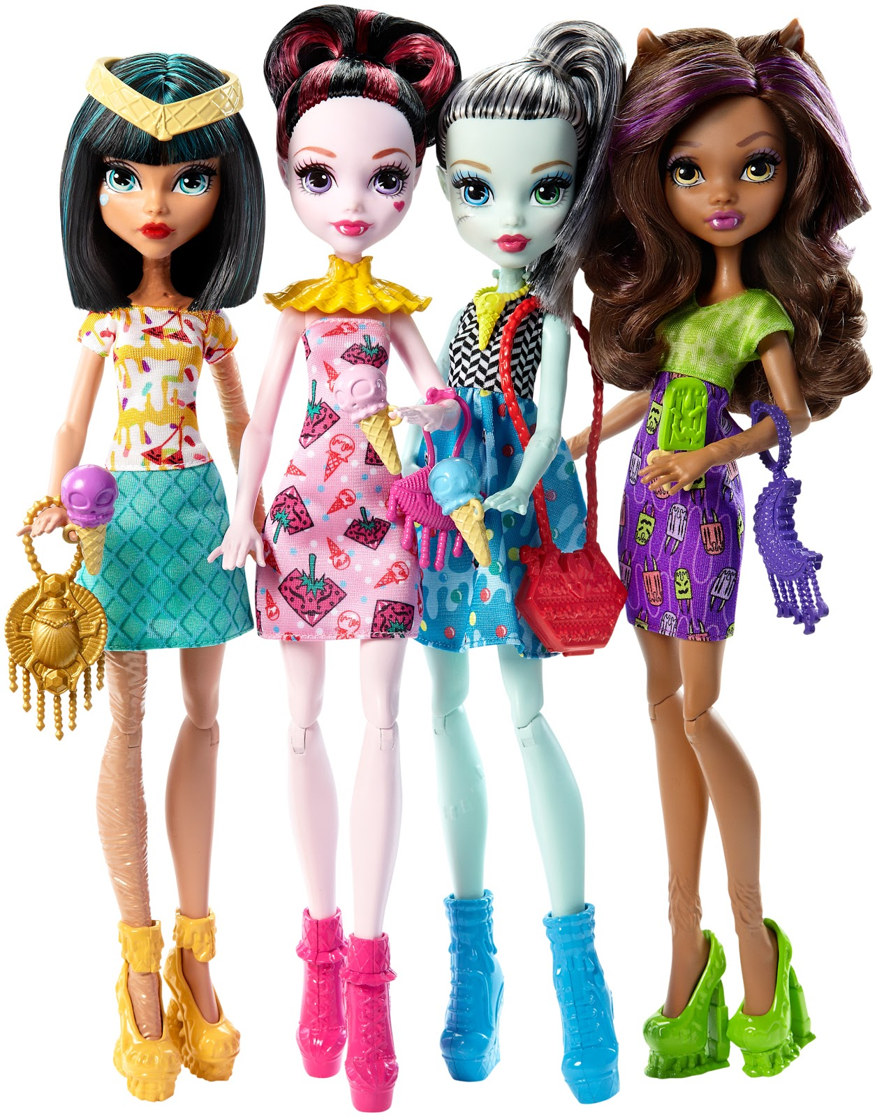 Monster High Pretty Fotos Promocionales Del Pack De