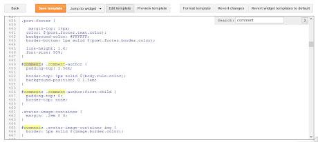 Pencarian kode dengan Ctrl+F