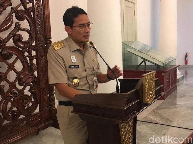 Jauh dari Kata Bubar, Sandiaga Uno Prediksi Ini yang terjadi dengan DKI Jakarta di 2045 Mendatang