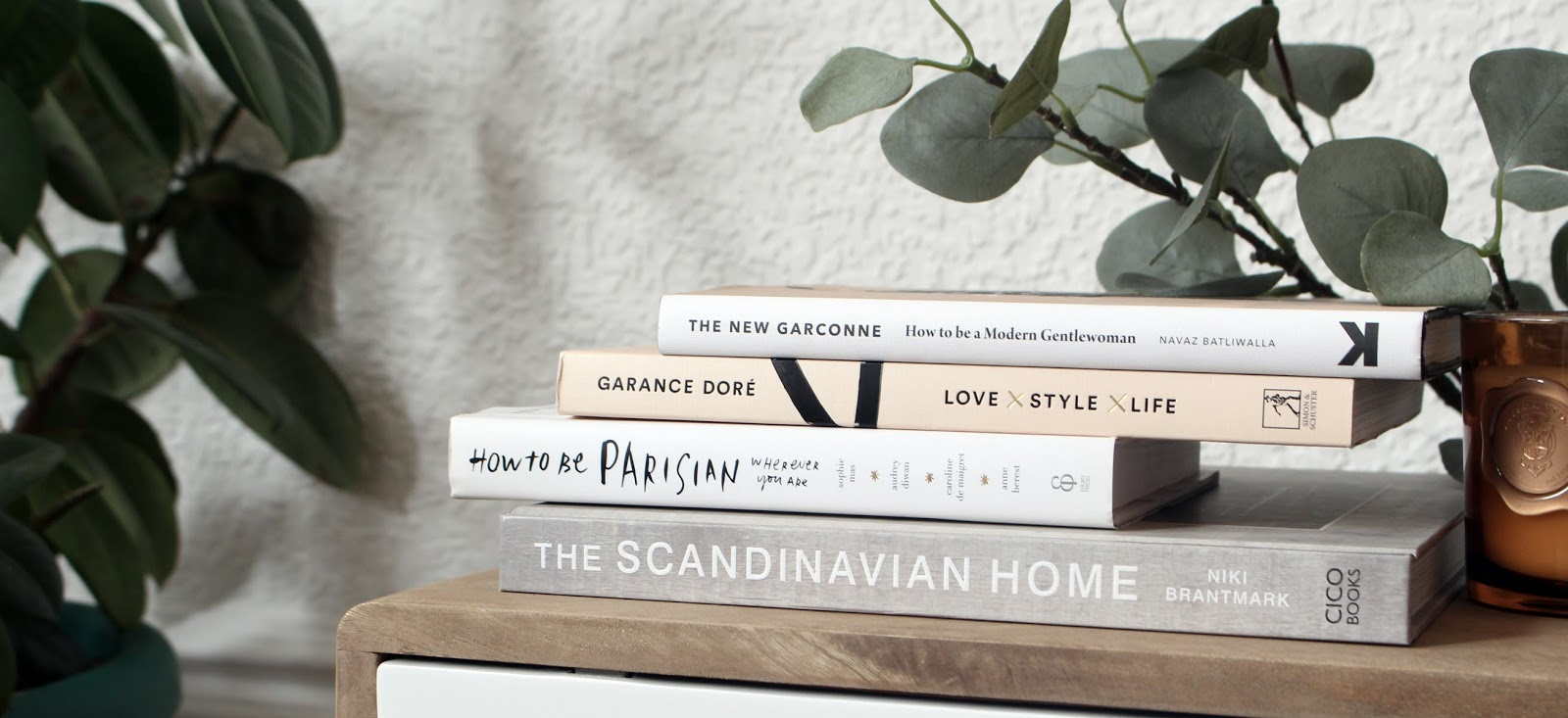 a stack of my favourite book and just a few from the cliche blogger library