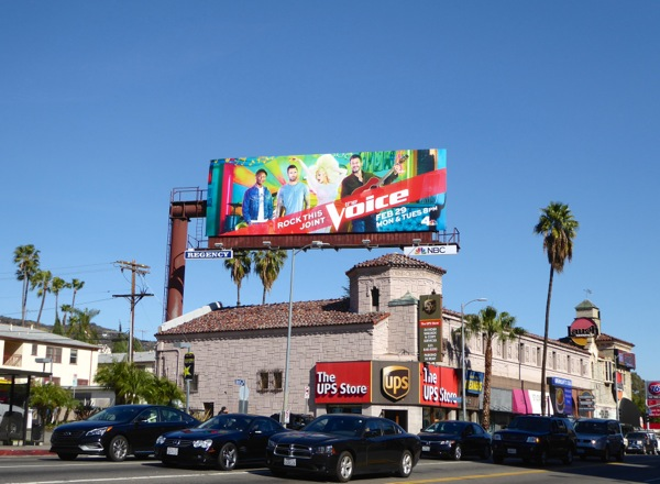 The Voice season 10 billboard
