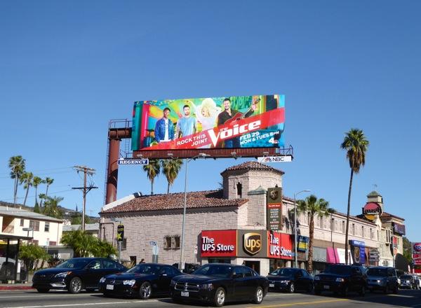 The Voice season 10 billboard