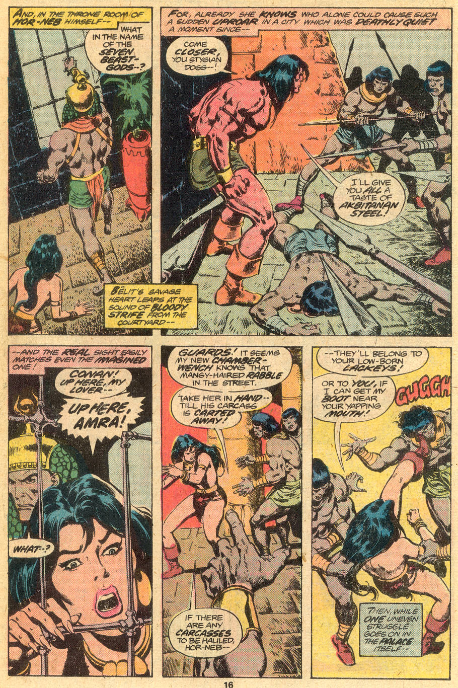 Conan the Barbarian (1970) Issue #76 #88 - English 11
