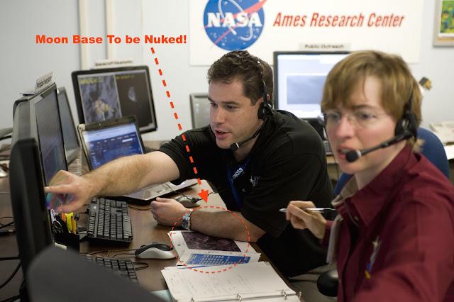 moon structure NASA desk image