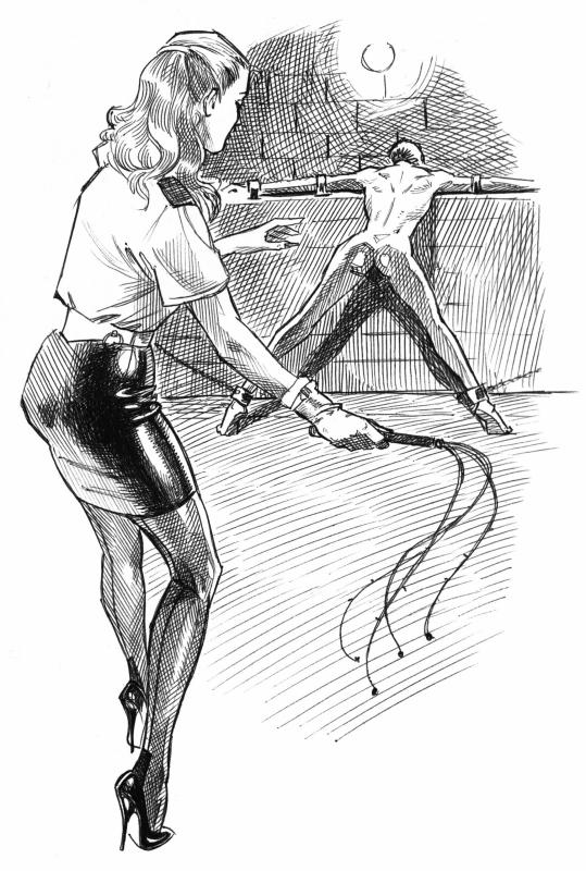 Femdom facesitting and whipping