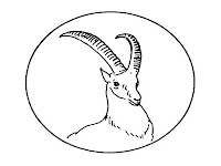 Antelope Head Kids Coloring Pages