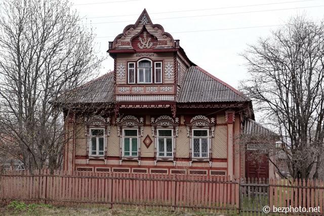 самые красивые деревянные дома