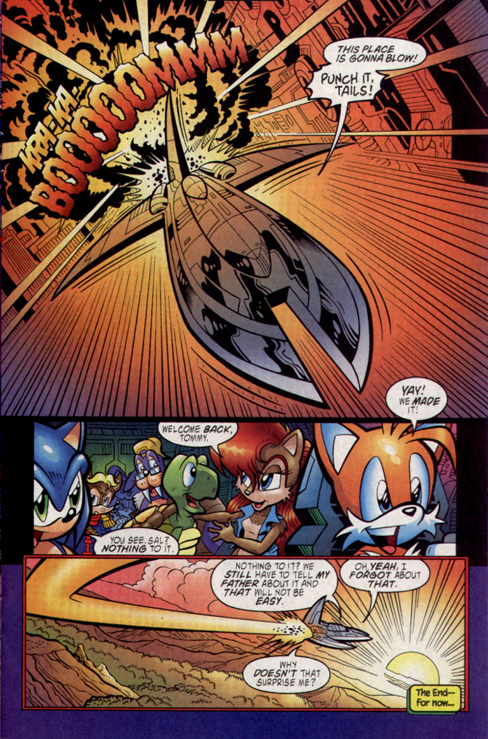 Read online Sonic The Hedgehog comic -  Issue #137 - 13