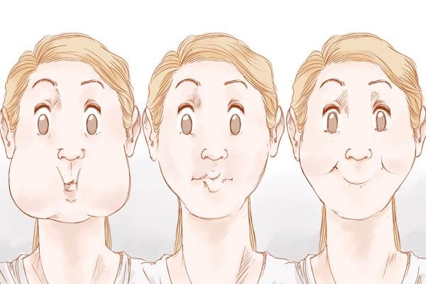 Cách giảm béo mặt cực nhanh bằng 4 mẹo đơn giản