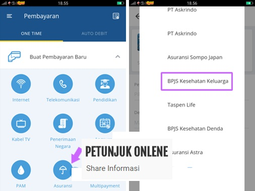 Cara Bayar Bpjs Melalui Mandiri Online Dan Sms Banking Petunjuk Onlene