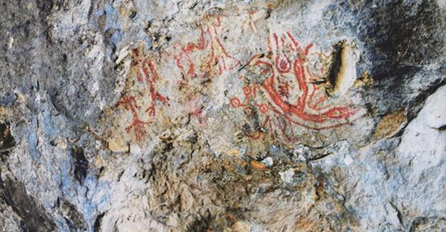 8,000-year-old cave paintings found in NW Turkey