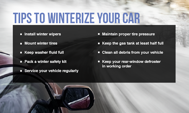 Kia Car Winterizing Tips - Kia Car Servicing