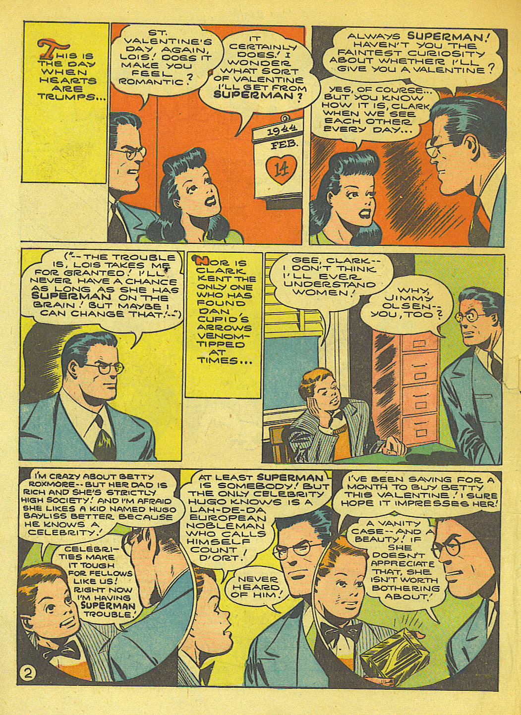 Read online Action Comics (1938) comic -  Issue #71 - 4