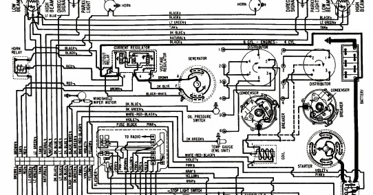 Wiring Diagram Of Chevrolet Chevy Ii 4 Cylinder