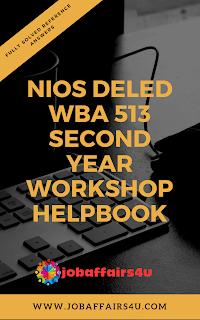 NIOS DELED WBA 513 PDF