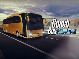 Game Simulasi Bus Android - Coach bus simulator