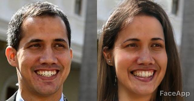 Políticos tendrían unos rostros muy distintos si cambiaran de sexo