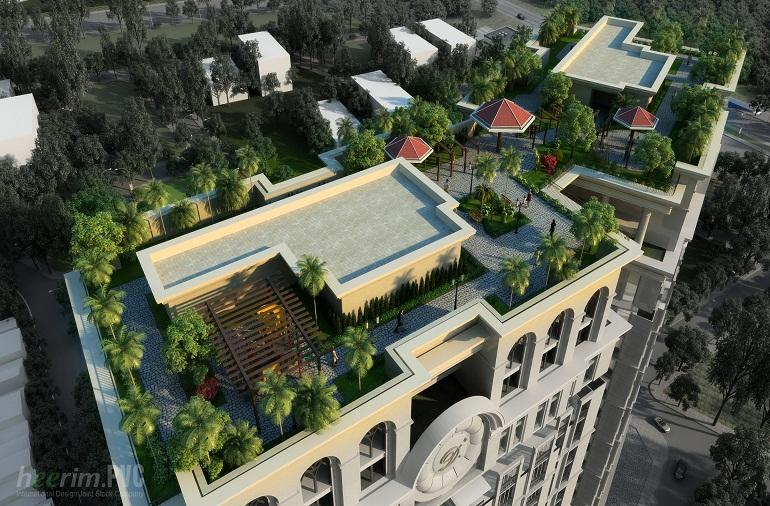 Dự án D'Le Pont D'or - Tân Hoàng Minh