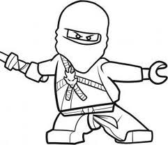 coloring pages of lego ninjago - coloring pages