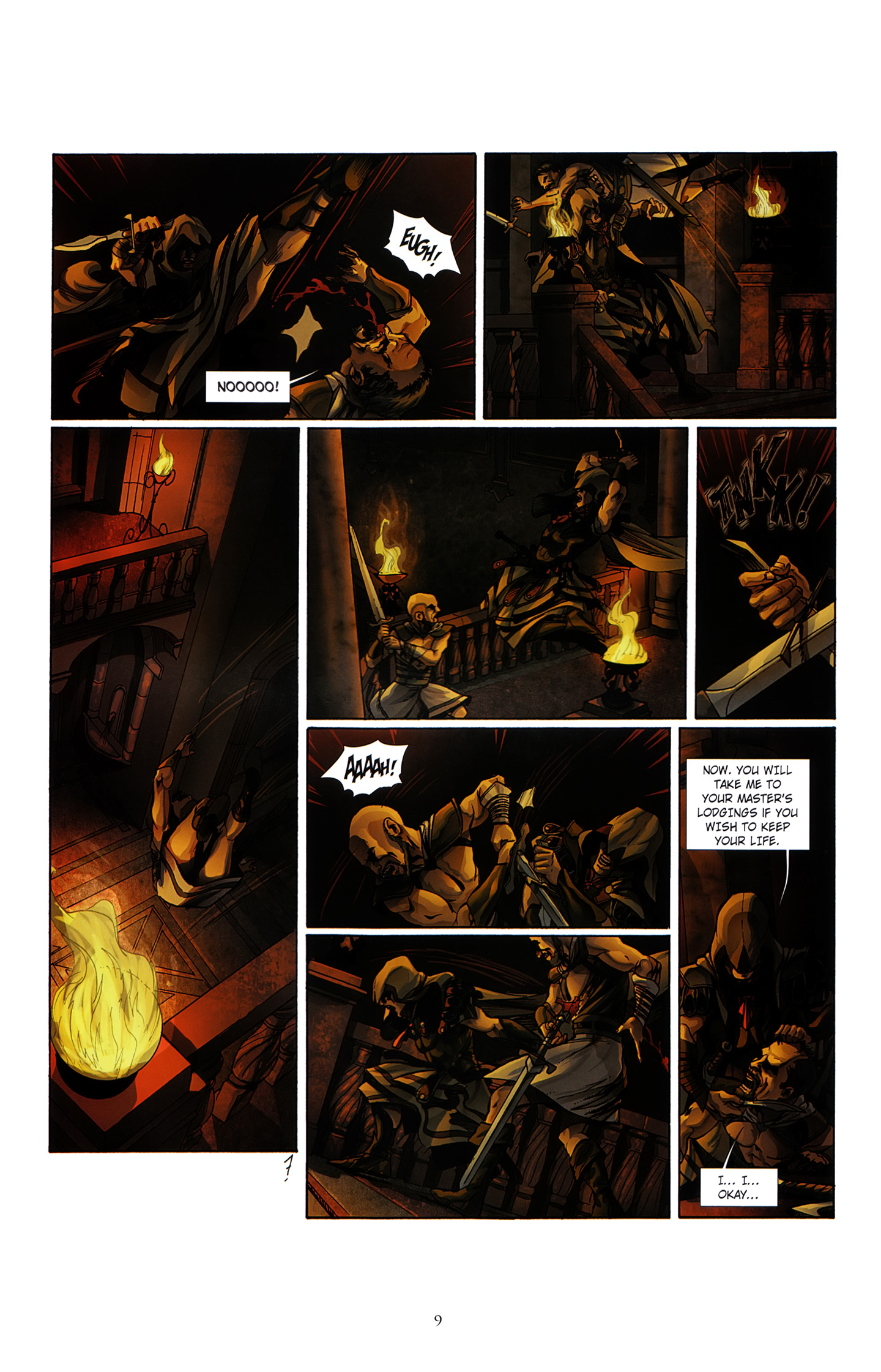 Read online Assassin's Creed (2012) comic -  Issue #3 - 13