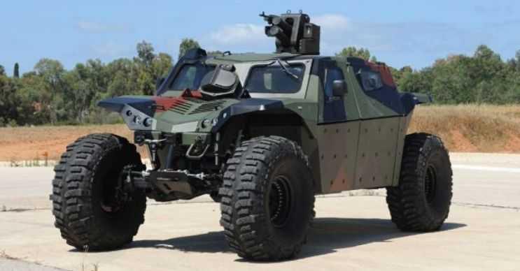 Combat Guard her türlü zeminden geçebilir, öyle ki bataklıkta bile gidebilir.