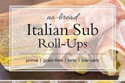 Italian Sub Roll Ups {grain-free; low-carb; keto}
