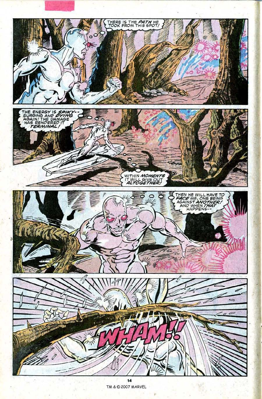 Read online Silver Surfer (1987) comic -  Issue #23 - 16