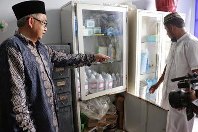 Rumah Sakit Abdullah Syafie Tidak Terawat