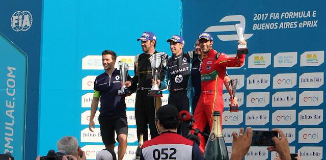 Buemi hace historia en la #FórmulaE al convertirse en el primer piloto en ganar 3 carreras seguidas