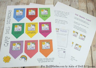 free printables for American Girls