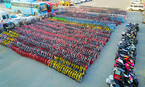 Mid-Life Cycling:: Bike Share Bikes Seized In Shanghai