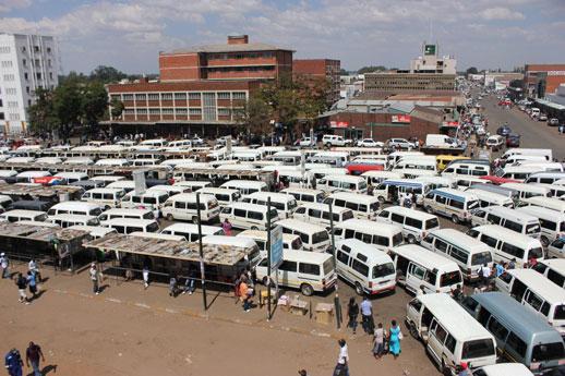 'Militarised' kombi ban riles Harare residents