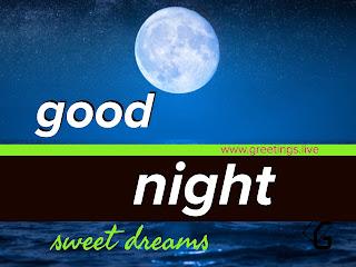Full moon good night sweet dreams whats app HD