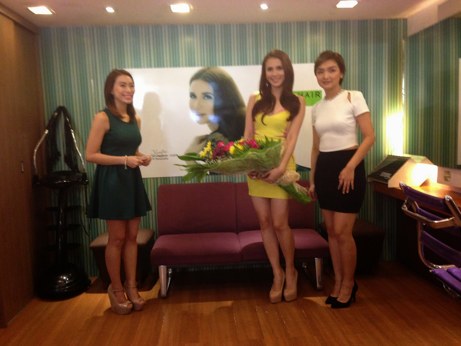 Karylle Is First Celebrity Endorser Of Status Salon Have A Model Habcf024sd After Power Outage Last Night The Has Branches In Tomas Morato Katipunan Eastwood San Juan Robinsons Galleria Plus Premiere Acropolis Makati And Banawe