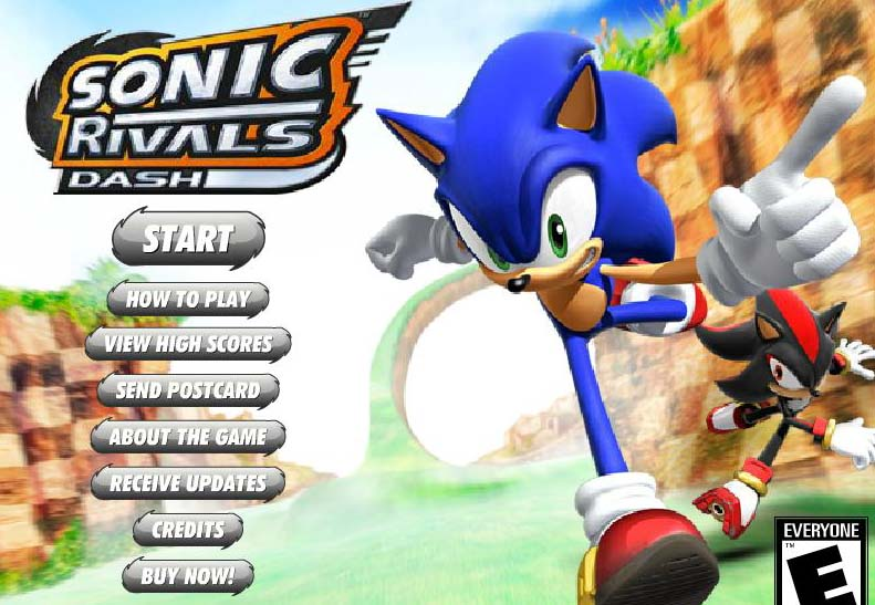 Sonic Dress Up Games Online