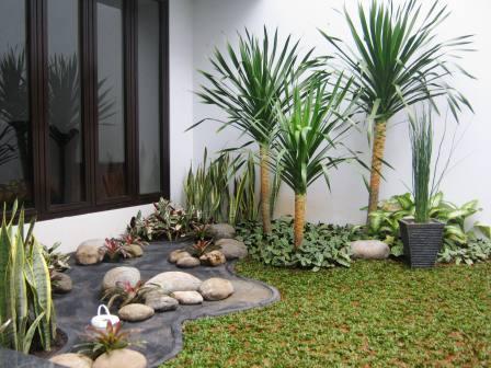 taman minimalis ,kolam minimalis, | love green